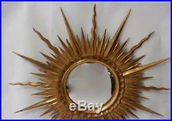 1950/70' Miroir Soleil Convexe Diamètre 87 cm
