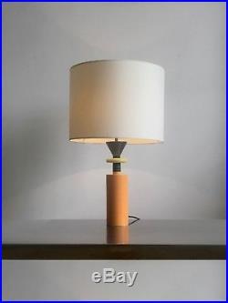 1980 OLIVIER VILLATTE LAMPE POST-MODERNISTE BAUHAUS MEMPHIS Sottsass