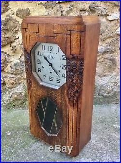 Ancien CARILLON Art Deco Marque SITA idem ODO WESTMINSTER 8 Marteaux 8 Tiges
