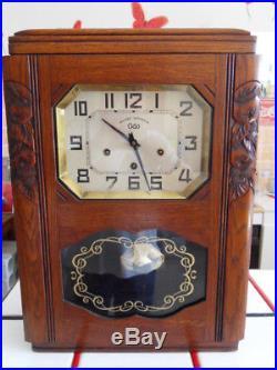 Ancien Carillon ODO véritable WESTMINSTER 5 TIGES 8 MARTEAUX