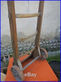 Ancien Diable Meunier Moulin Boulanger montagne chalet Vintage Art Populaire