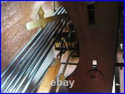 Ancien carillon ODO 10 marteaux 6 tiges SONODO WESTMINSTER platine 121 1930-36