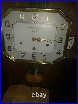 Ancien carillon Vedette 8 marteaux 8 tiges horloge pendule