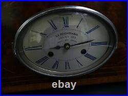 Ancienne Pendule Borne La Pendastrava Pendule A Pièce Modèle Art Déco Bel Objet