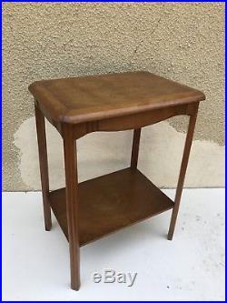 Ancienne Table d'Appoint Console Entrée Bois ART DECO Années 30 Vintage