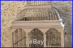 Ancienne et grande cage à oiseaux. 1,04 m