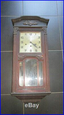 Ancienne pendule carillon 10 tiges 10 marteaux / no ODO/ Westminster