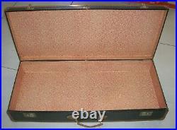 Ancienne valise malle grand format en bois et métal années 1930