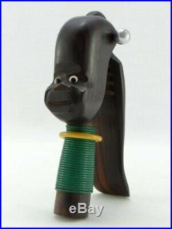 Années 1930, Casse-noix Africaniste En ébène De Macassar