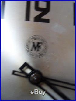 Antique art deco clock uhr pendule horloge carillon Manufrance Reynaldo Hahn