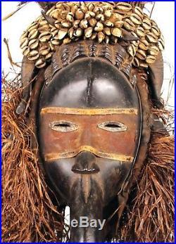 Art Africain Tribal Grand Masque Dan Mahou Déco Africaine Ethnique 75 Cms