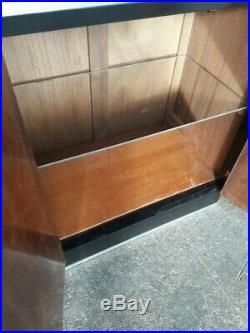 Bar Cabinet moderniste bois epoque art deco 1930