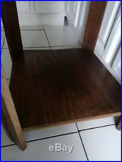 Belle Table ancienne Art Deco meuble en bois à voir