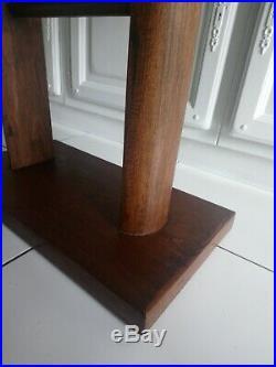 Belle Table ancienne design Art Deco meuble en bois à voir
