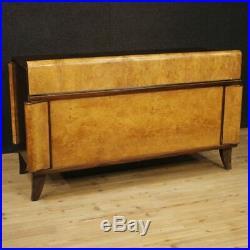 Bureau Secrétaire Table Meuble Style Ancien Art Déco en Bois 3 Tiroirs 900