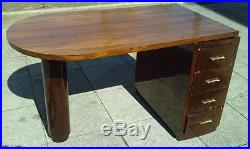 Bureau art deco desk bois exotique moderniste