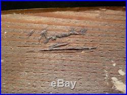 CADRE 1940 signé E BOUCHE MONTPARNASSE ART DECO 35 x 24 cm 5P FRAME Ref C525