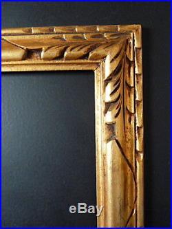 CADRE ANNEES 1920 1930 DORÉ 40 x 30 cm ART NOUVEAU ART DECO FRAME Ref C641