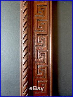 CADRE ANNEES 1940 1950 ART DECO bois sculpté 33 x 25 cm 4F FRAME Ref C602