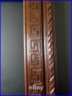 CADRE ANNEES 1940 1950 ART DECO bois sculpté 33 x 25 cm 4F cm FRAME Ref C601