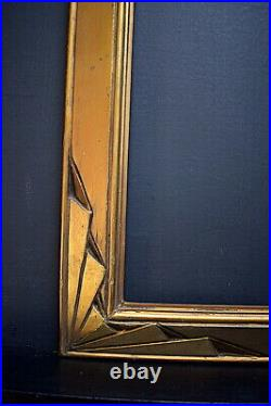 CADRE ART DÉCO DORÉ 55 x 46 cm 10 FRAME 1925 1930 Ref C916
