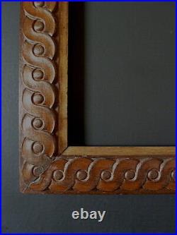 CADRE BOIS SCULPTÉ style ART DECO ORIENTALISTE 48 x 36 cm FRAME Ref C707