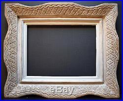 CADRE MONTPARNASSE ART DECO estampillé E BOUCHE 40 x 30 cm FRAME Ref C823