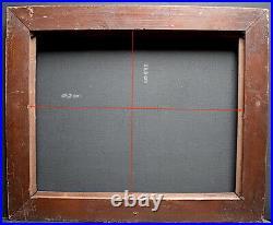 CADRE ORIENTALISTE ART DECO 1925 1940 BOIS SCULPTÉ 45 x 35 cm FRAME Ref C877