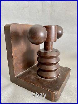 CHARLES DUDOUYT Att SERRE LIVRE ART DECO modernistes SCULPTURE BOOKENDS dg adnet