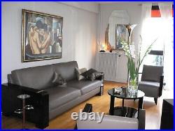 Canapé Hugues Chevalier modèle Madison + 2 fauteuils