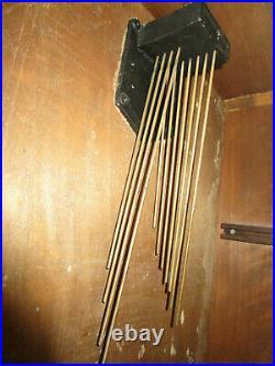 Carillon 11 tiges 11 marteaux 2 sonneries YVEL No ODO