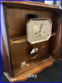 Carillon 8 marteaux 8 tiges veritable westminster! Chime clock romanet morbier