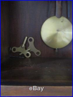 Carillon Art Déco Furtwangler LFS 8 tiges 8 marteaux Cadrant Mécanique no ODO