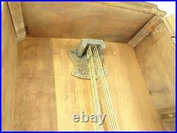 Carillon Art déco 2 mélodies uhr clock pendulum wanduhr no odo