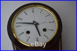 Carillon Horloge Pendule Bois Art Deco / Wall Clock