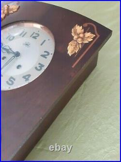 Carillon Horloge Pendule Morbier FFR thermomètre baromètre années 50 Fonctionne