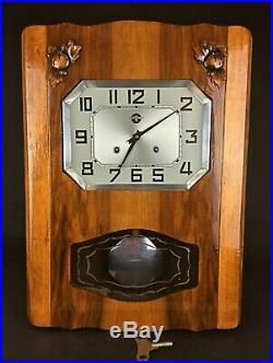 Carillon Horloge murale Carrez ancienne vintage révisée rénovée garantie