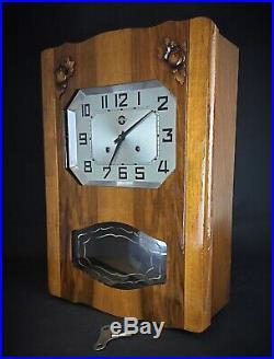 Carillon Horloge murale Carrez ancienne vintage révisée rénovée garantie un an
