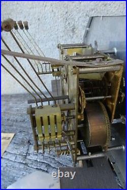 Carillon MANUFRANCE 8 tiges 8 marteaux quatre sonneries interchangeables