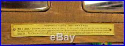 Carillon N°42+ Barometre Vedette+ Thermometre Tout En Etat De Fonctionnement