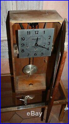 Carillon ODO N°36 8 tiges 8 marteaux French old clock support en U