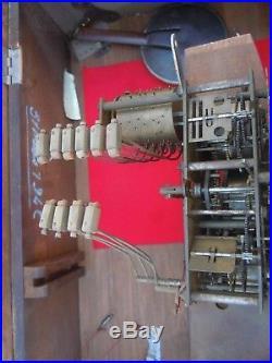 Carillon Odo 10 tiges 10 marteaux carillon ODO 30 caisse bois sculpté deco vigne