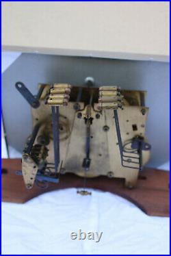 Carillon Odo 24 8 tiges 8 marteaux ancien Art déco bois