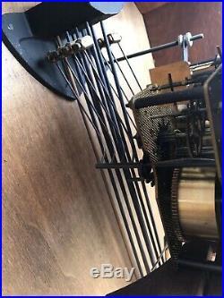 Carillon Odo Westminster 8 Marteaux, 8 tiges. Fonctionne Parfaitement