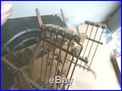 Carillon VEDETTE Westminster 11 tiges, 11 Marteaux 2 Mélodies des années 50