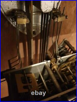 Carillon Véritable Westminster Vedette mode Sil-Nuit 8 marteaux 8 tiges