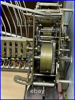 Carillon Westminster 10 Tiges 10 Marteaux 4 AIRS Romanet en bon état