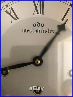 Carillon/horloge originale Odo Westminster, 8 marteaux, parfait état de marche