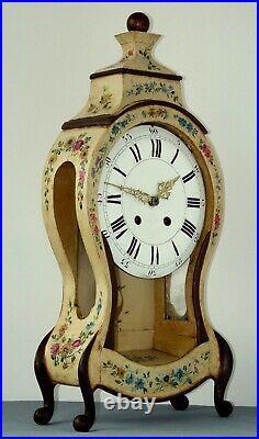 Cartel Pendule avec sa console Neufchâtel sonnerie de rappel heures