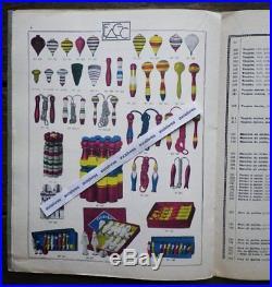Catalogue ARTICLES DE CAVE robinets JOUETS JEUX toupies Outils BOIS Moirans Jura